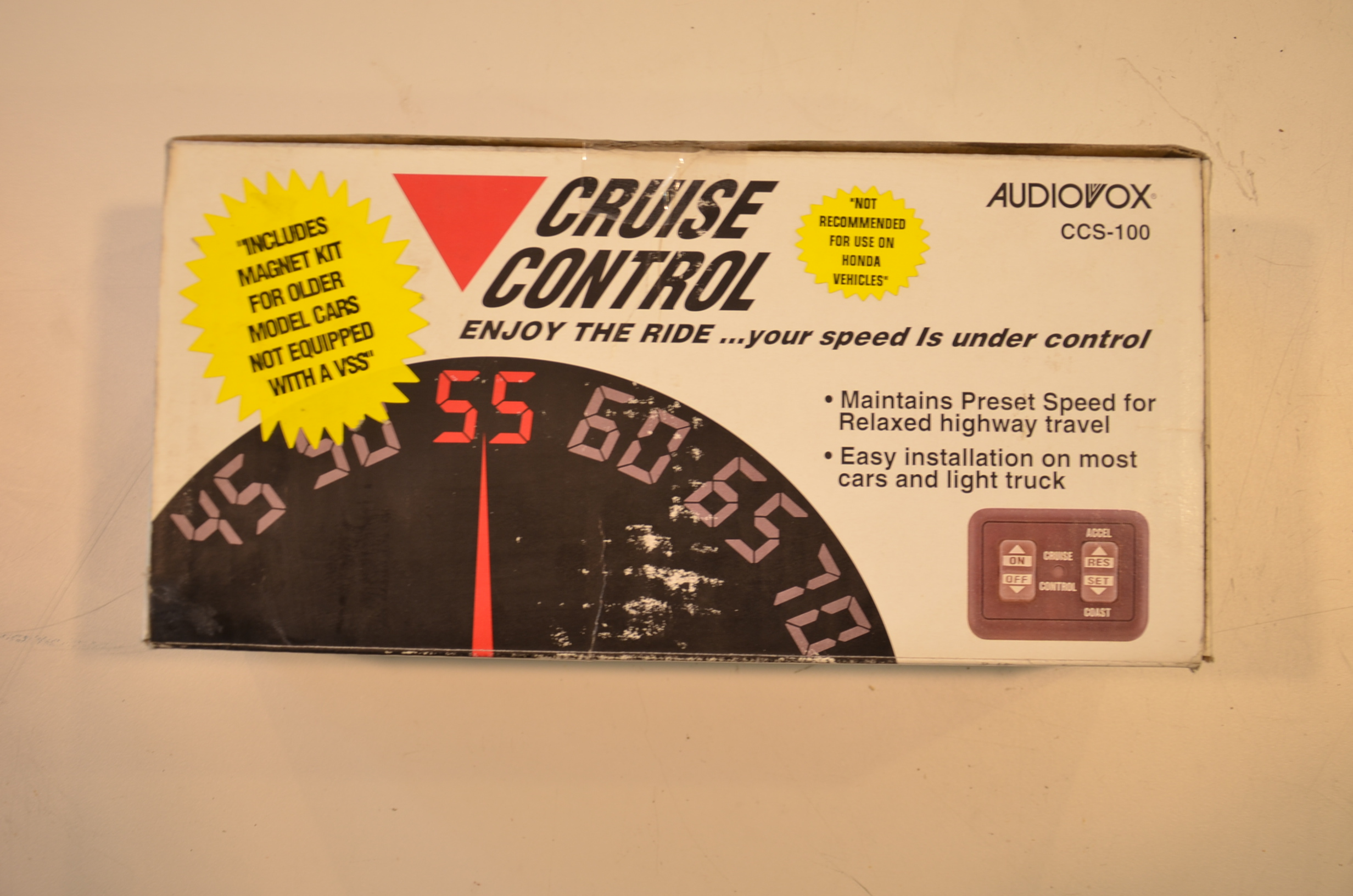 Cruise Control Should Not Be Used >> Ccs100 Cruise Control Vakionopeudensaadin